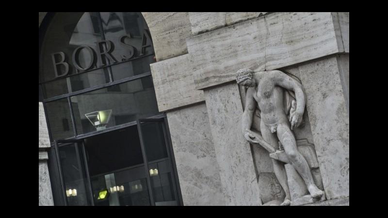 Borsa, Milano chiude a -0.23%, ok Telecom e Finmeccanica