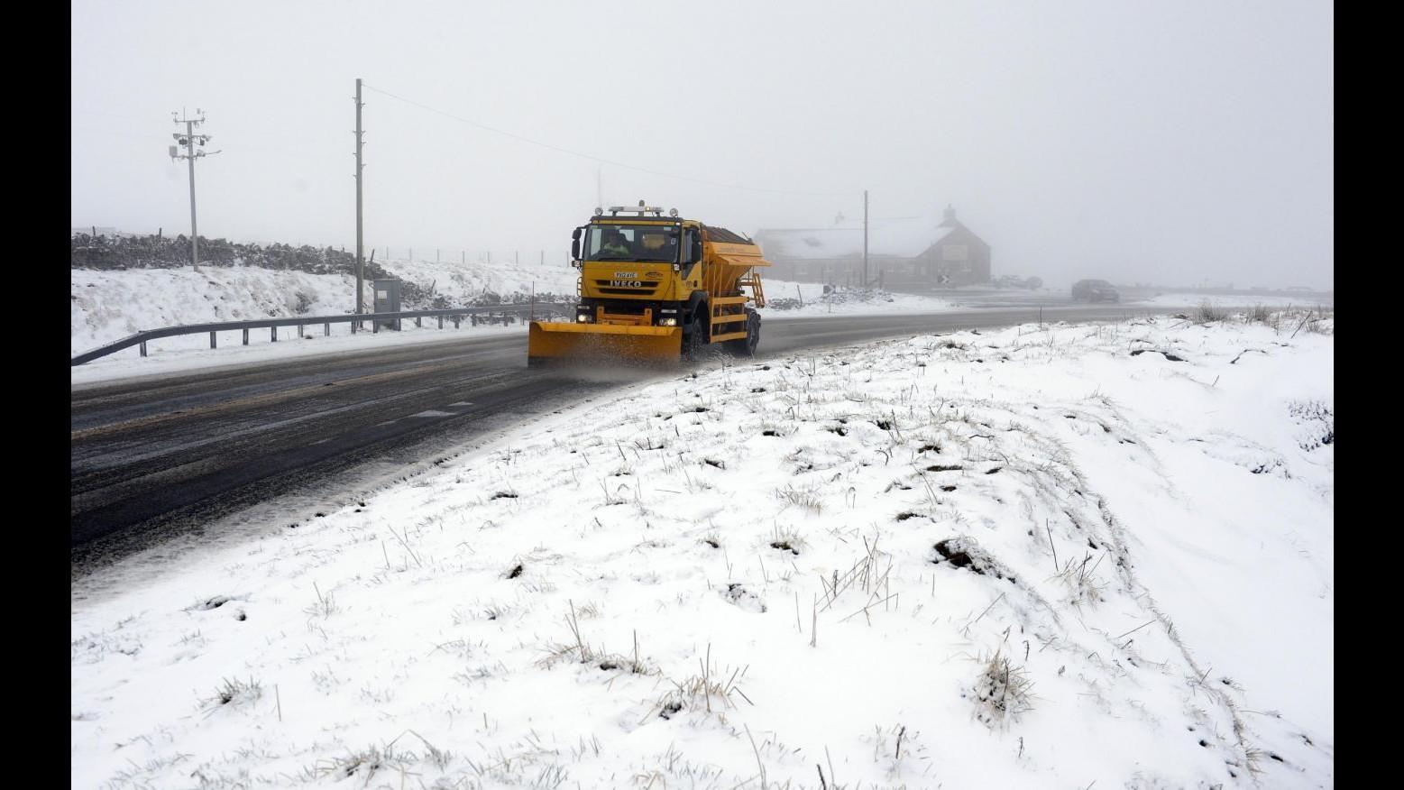 Meteo,svolta invernale: arriva nuova perturbazione con aria artica