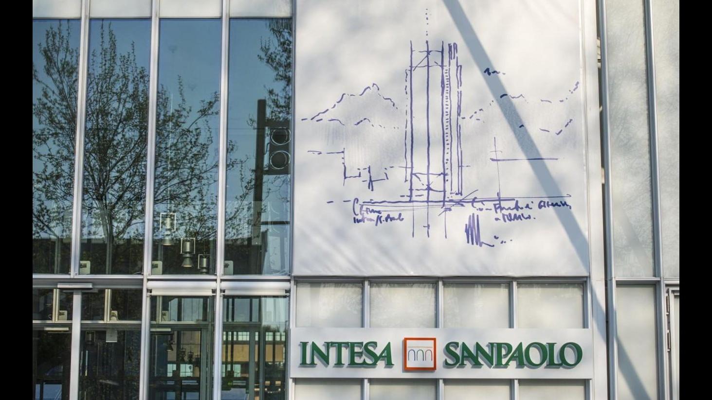 Intesa Sp vende 5,7% di Bankitalia per 430 milioni