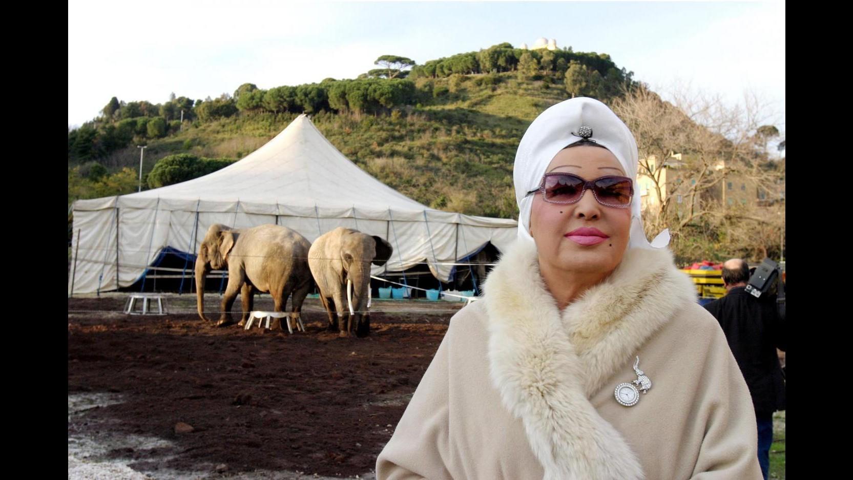 Morta Moira Orfei, la regina del circo aveva 83 anni