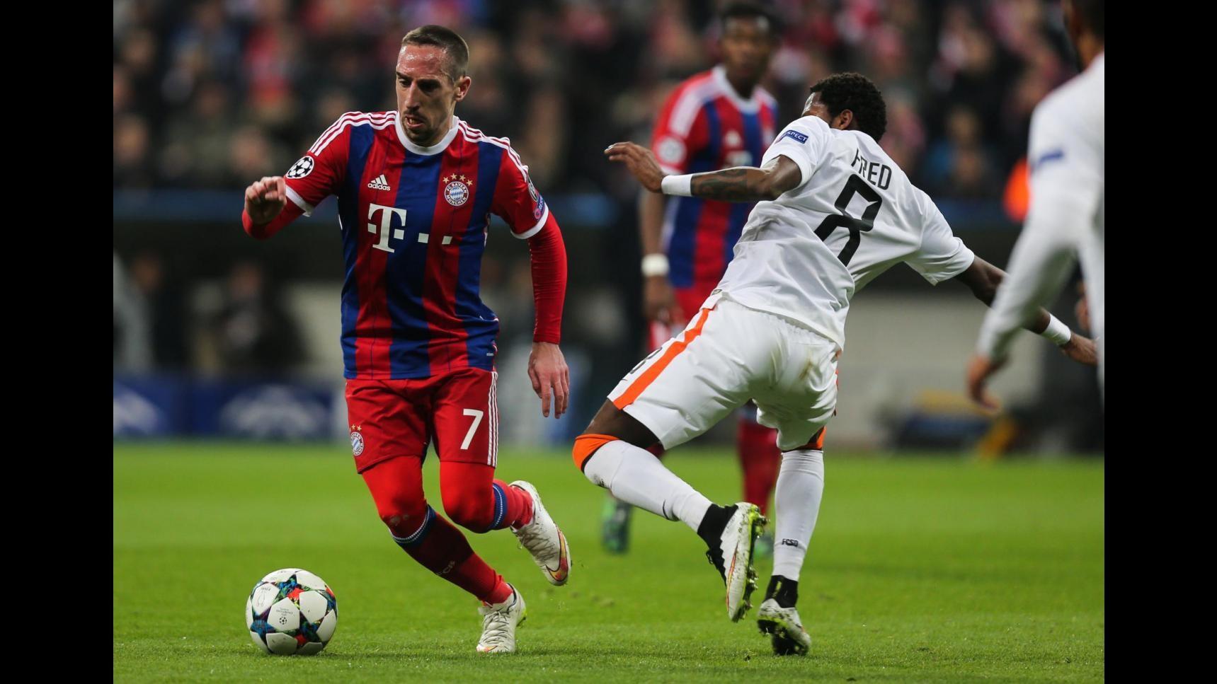 Calcio, Ribery: Assenza per infortunio periodo più duro mia carriera