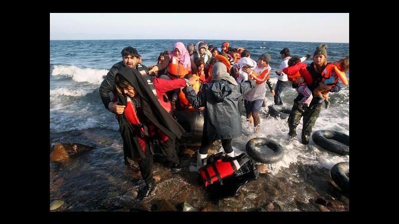 Migranti, Unhcr: 140mila arrivi via mare a novembre, numeri in calo