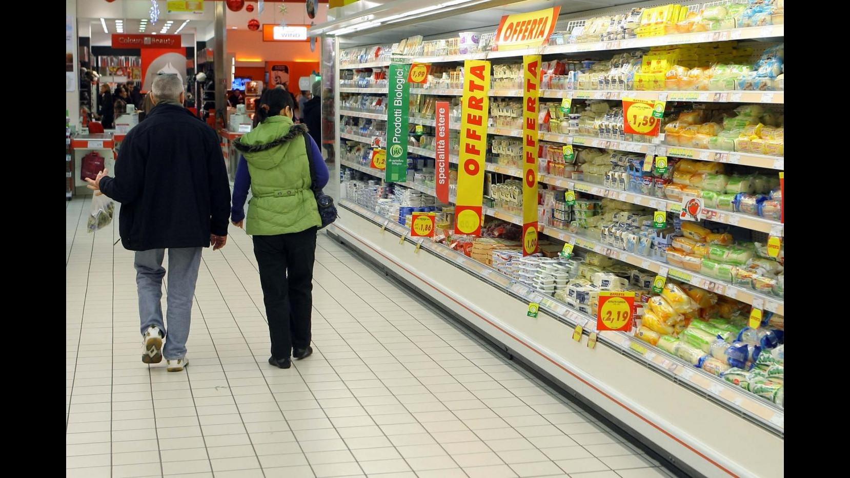 Inflazione, consumatori: Quadro altalenante,Italia non uscita da crisi