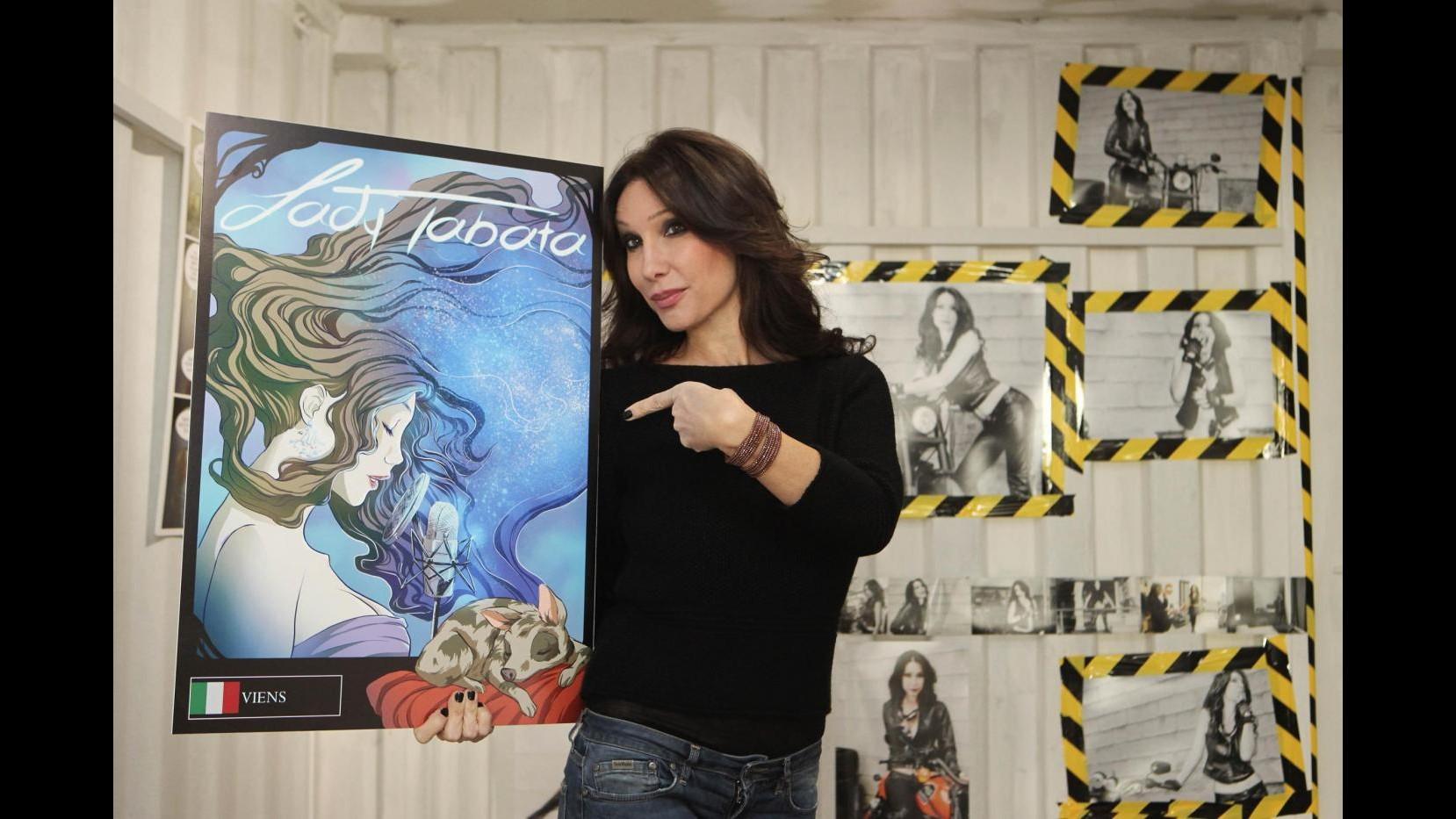 Lady Tabata eroina dei fumetti: Difendo donne e giovani