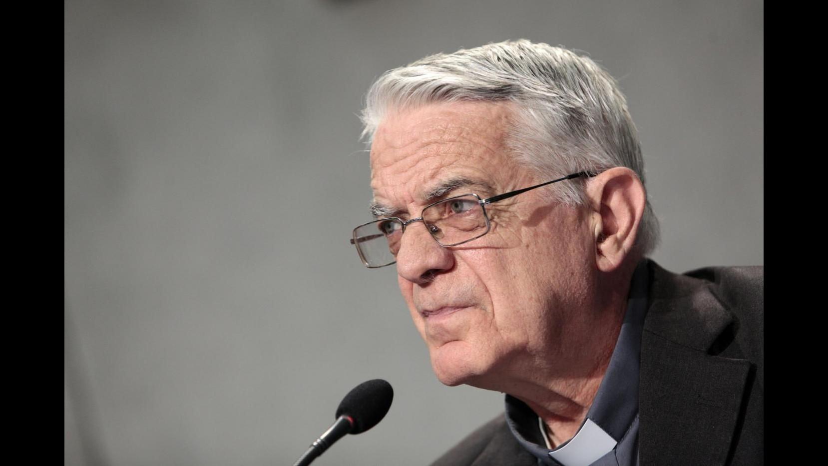 Padre Lombardi: Papa oggi ha incontrato donne vittime di violenza