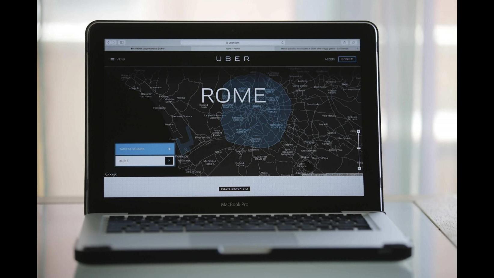 Uber lancia a Roma la 'Linea U': 9 fermate per il Giubileo