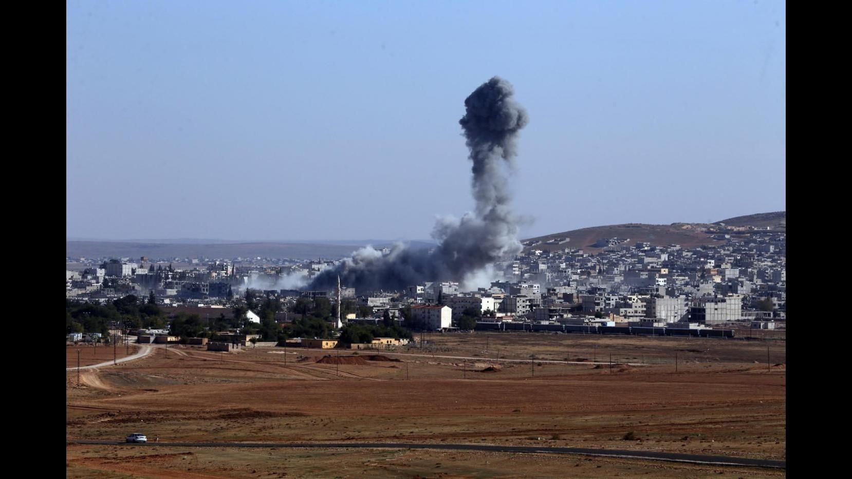 Isis, leader militare Mossul muore in raid aereo coalizione a guida Usa
