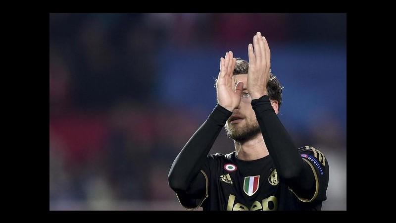 Juve, Marchisio: Peccato per 1° posto, ora testa a campionato