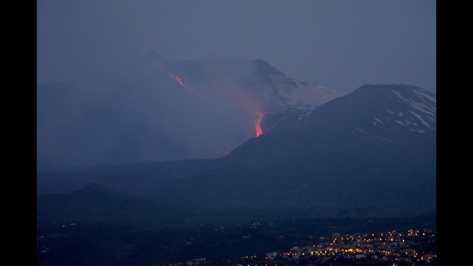 Terremoti, Ingv: 46 scosse registrate oggi in area Etna