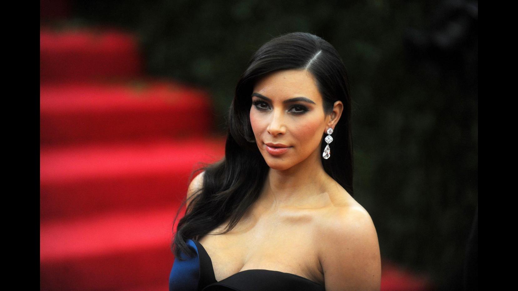 Il figlio di Kim Kardashian e Kanye West si chiama Saint