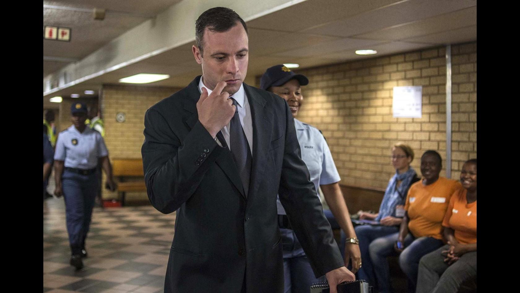 Pistorius, domani in tribunale per udienza su cauzione