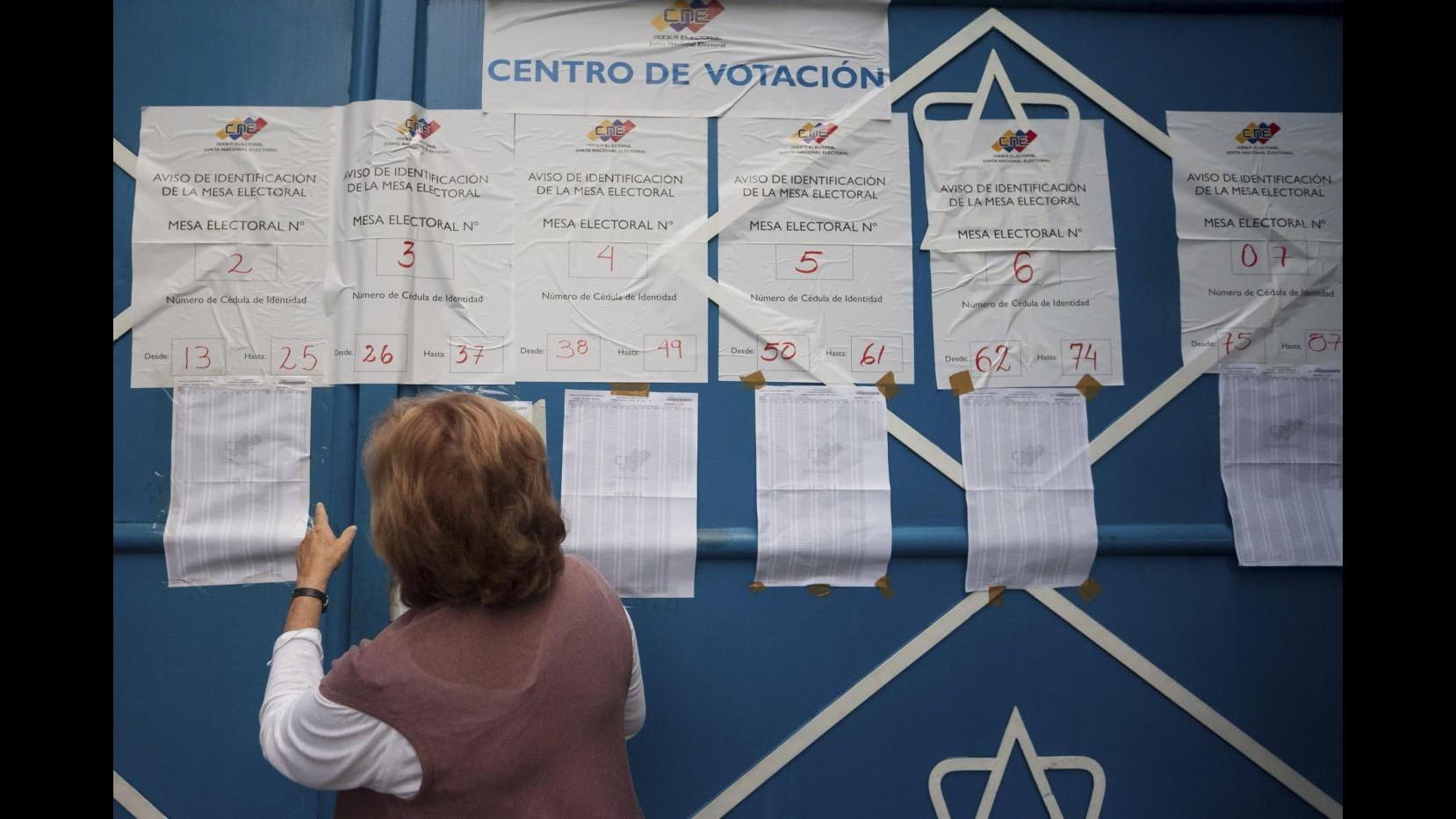 Venezuela al voto per legislative, dopo 16 anni opposizione può vincere