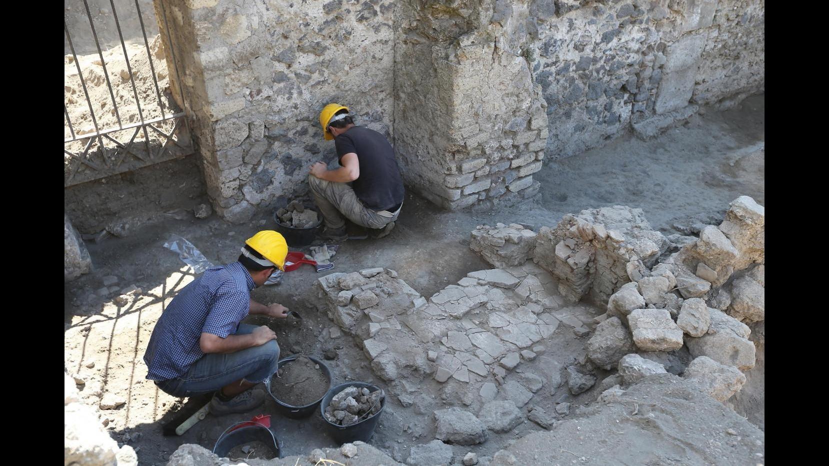 Pompei, avviati lavori di messa in sicurezza al Teatro Piccolo