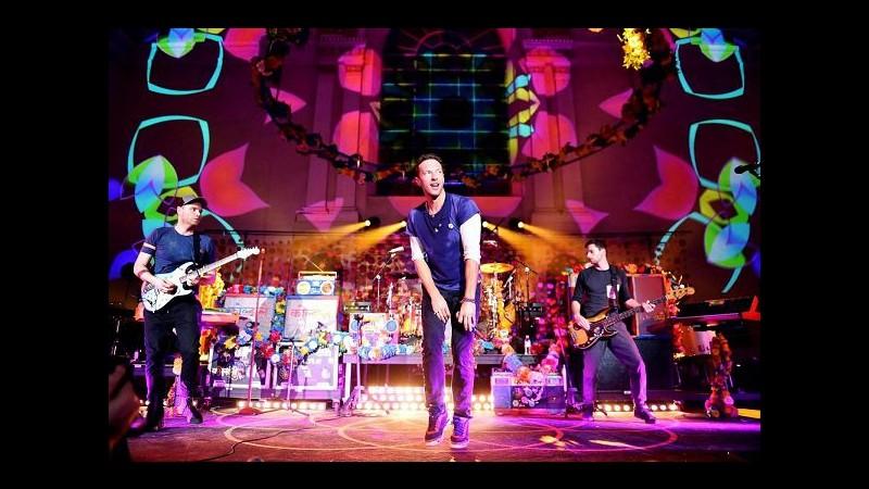 Musica, esce oggi 'A Head Full of Dreams' dei Coldplay