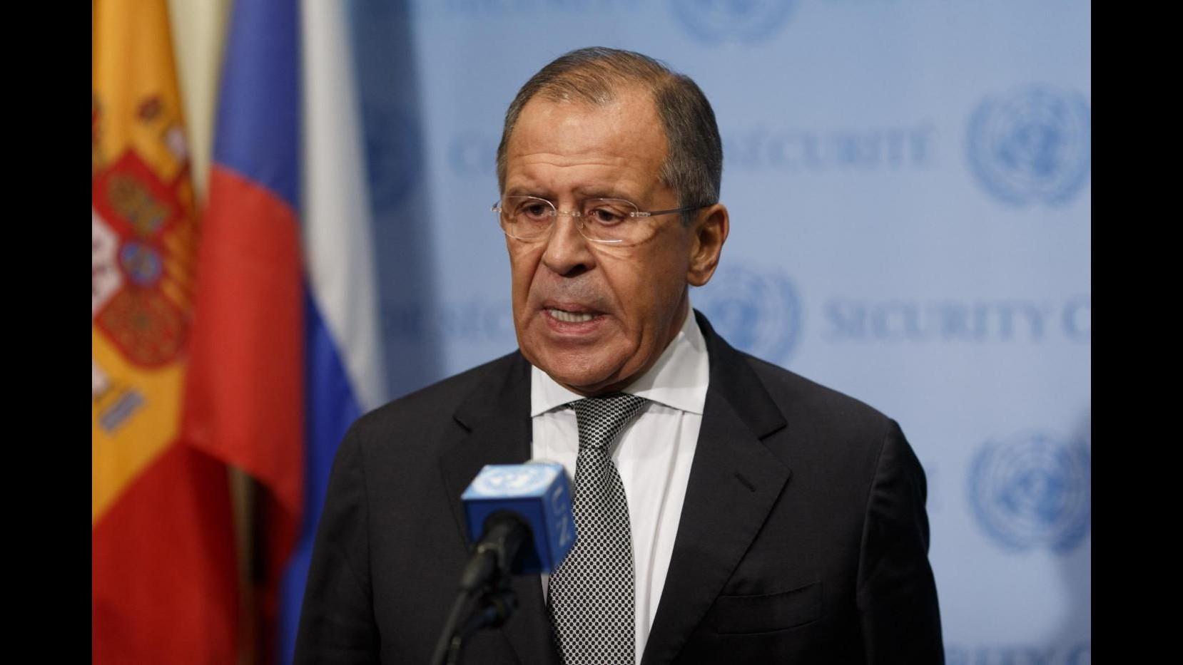 Jet abbattuto, Lavrov: Da Cavusoglu non ho sentito nulla di nuovo