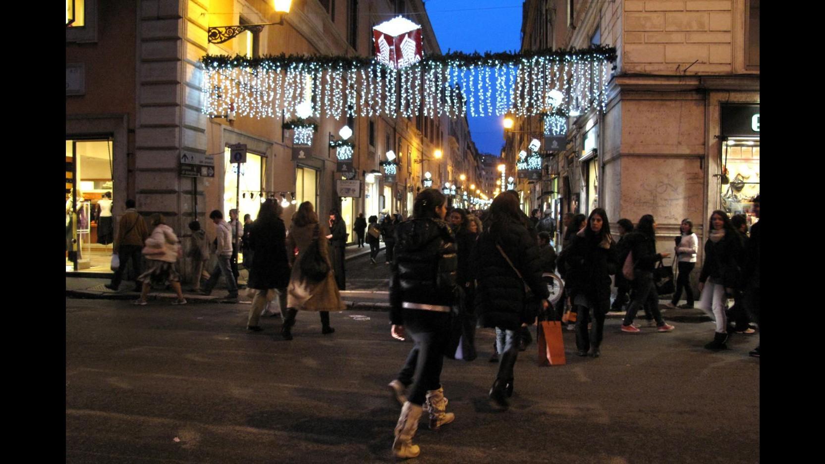 Natale, Confcommercio: Primo con aumento consumi dopo 7 anni