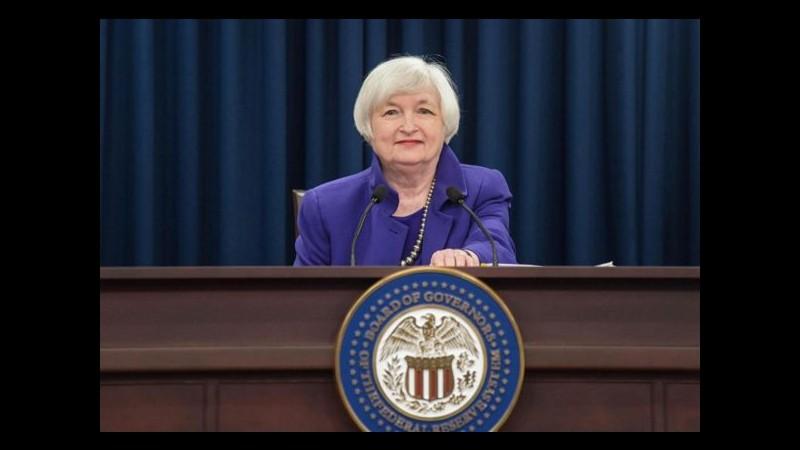 Usa, analisti non escludono accelerazione forte nel rialzo dei tassi