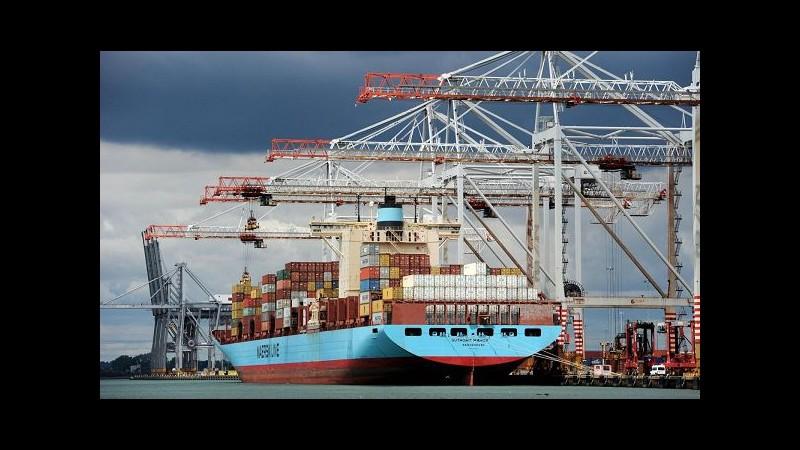 Istat: Ad ottobre su Paesi extra-Ue export -0.4% e import stabile