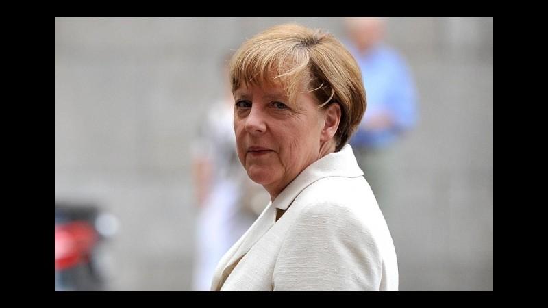 Siria, Merkel: Assad non potrà essere parte soluzione a lungo termine