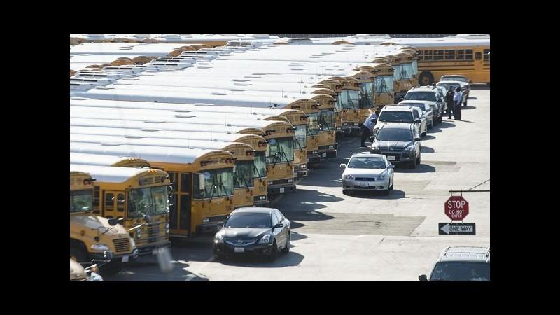 Usa, scuole Los Angeles riaprono oggi dopo stop per minaccia sicurezza