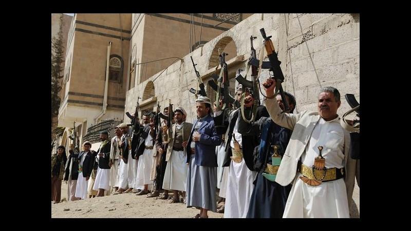 Yemen, houthi: Coalizione araba ha violato il cessate il fuoco