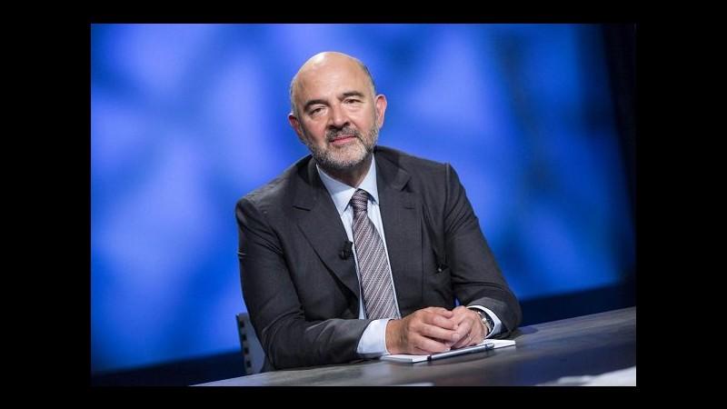 Parigi, Moscovici: Spese sicurezza Francia esenti da calcolo deficit