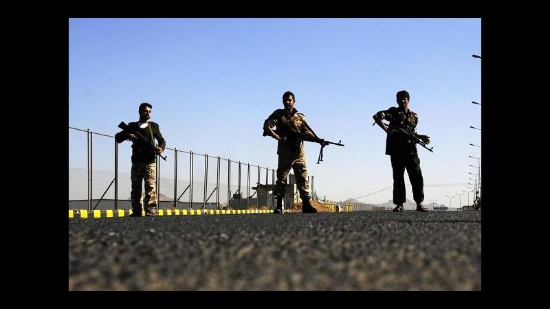 Yemen, scambio di prigionieri tra governo e ribelli houthi