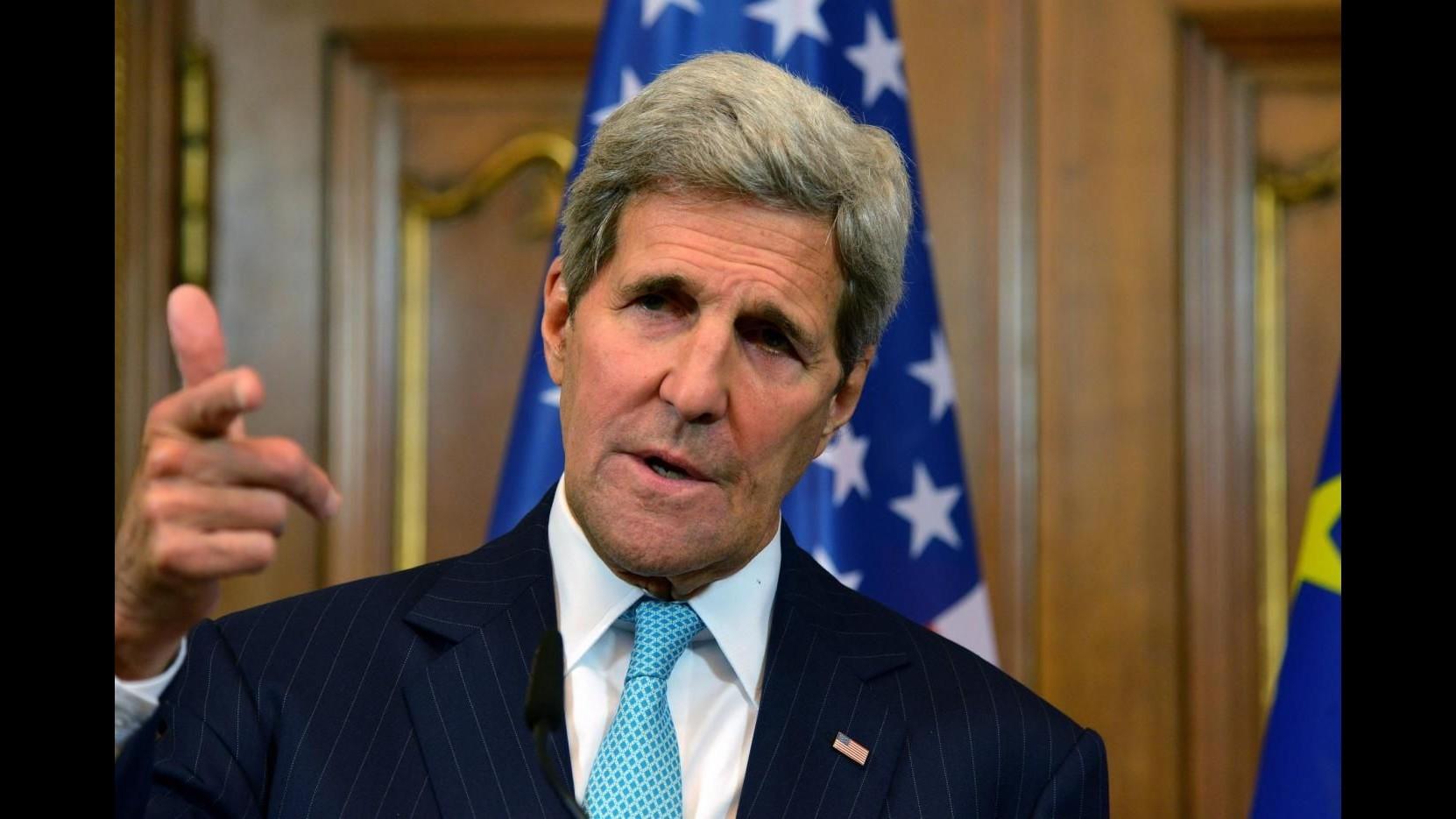 Siria, Kerry accusa Russia di bombardare opposizione e non Isis