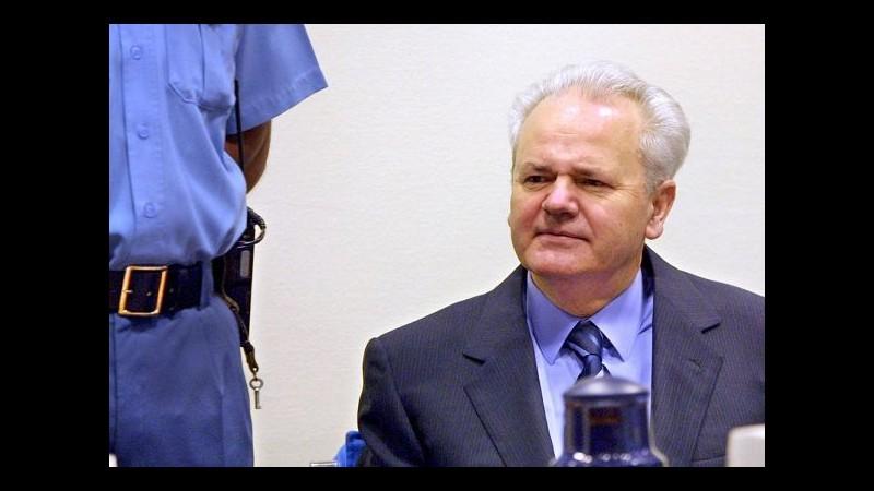 Ex Jugoslavia, Corte ordina nuovo processo per polizia segreta Milosevic