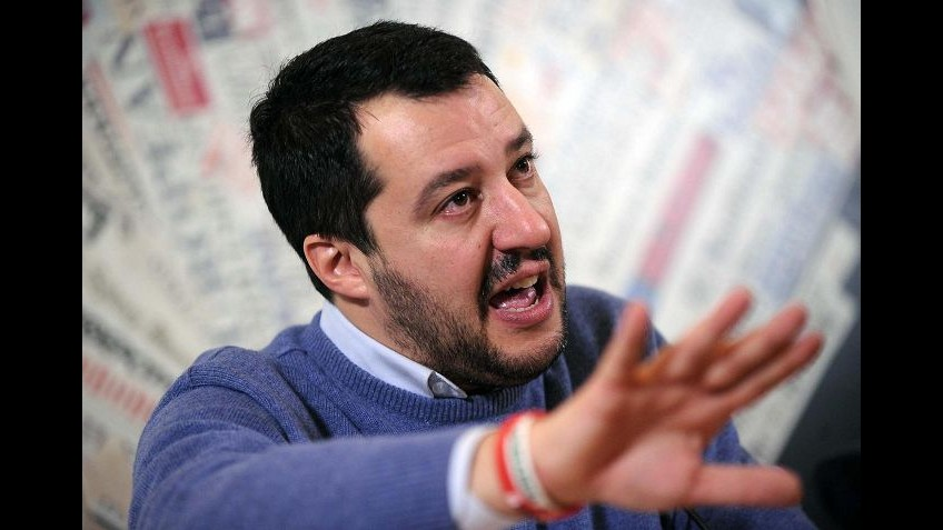 Legge Stabilità, Salvini: Debito con Renzi fuori controllo e media zitti