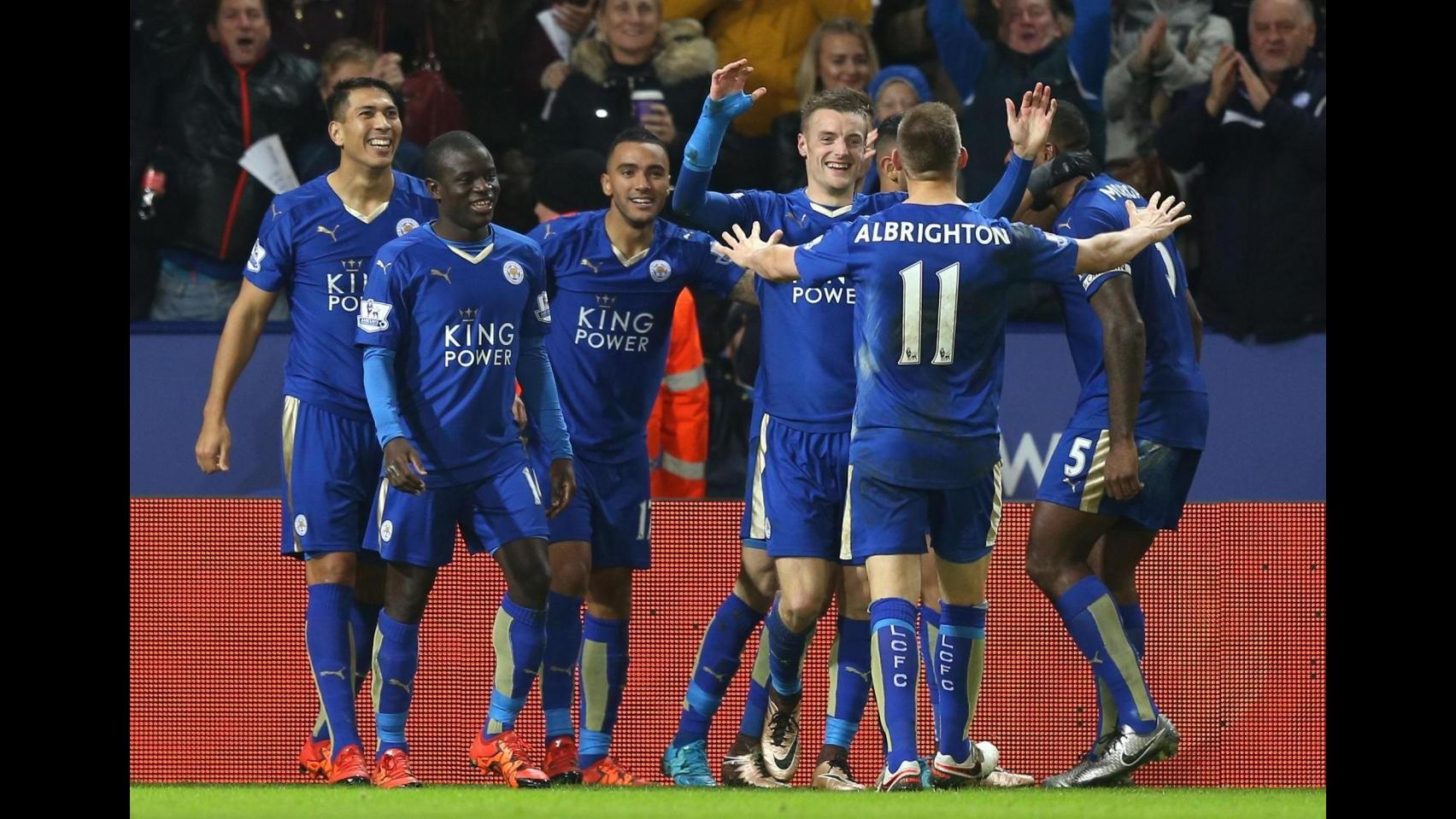 Premier League: Leicester torna in vetta, Chelsea ko 2-1