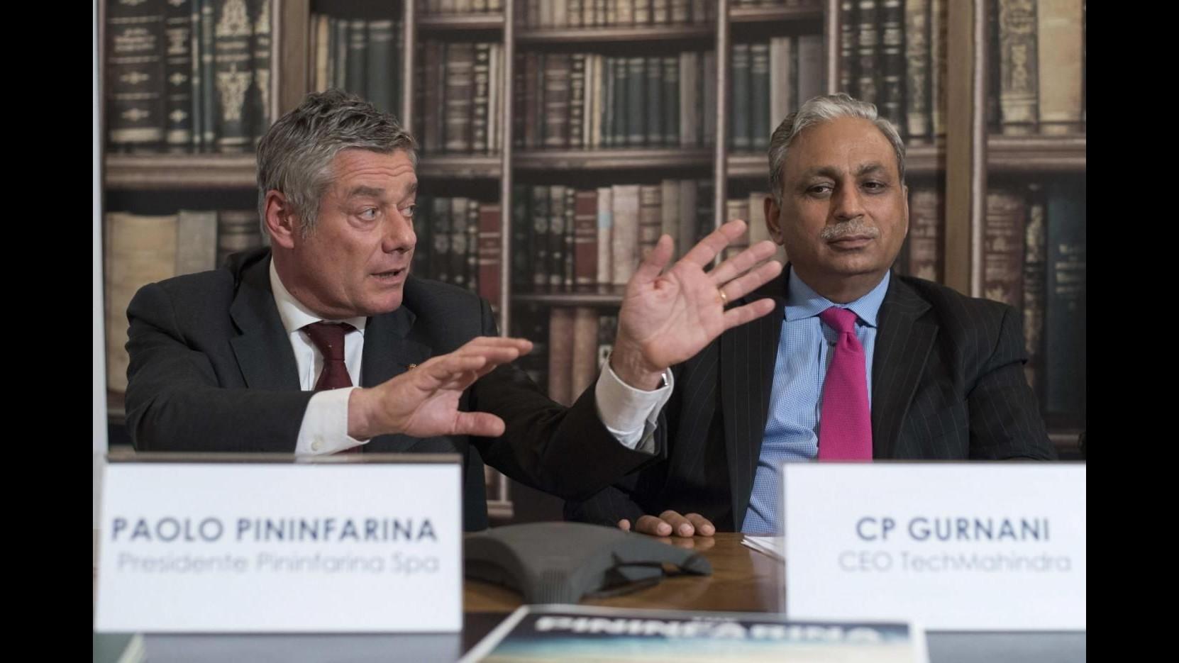 Pininfarina a indiani di Mahindra: fino a 150 milioni sul piatto