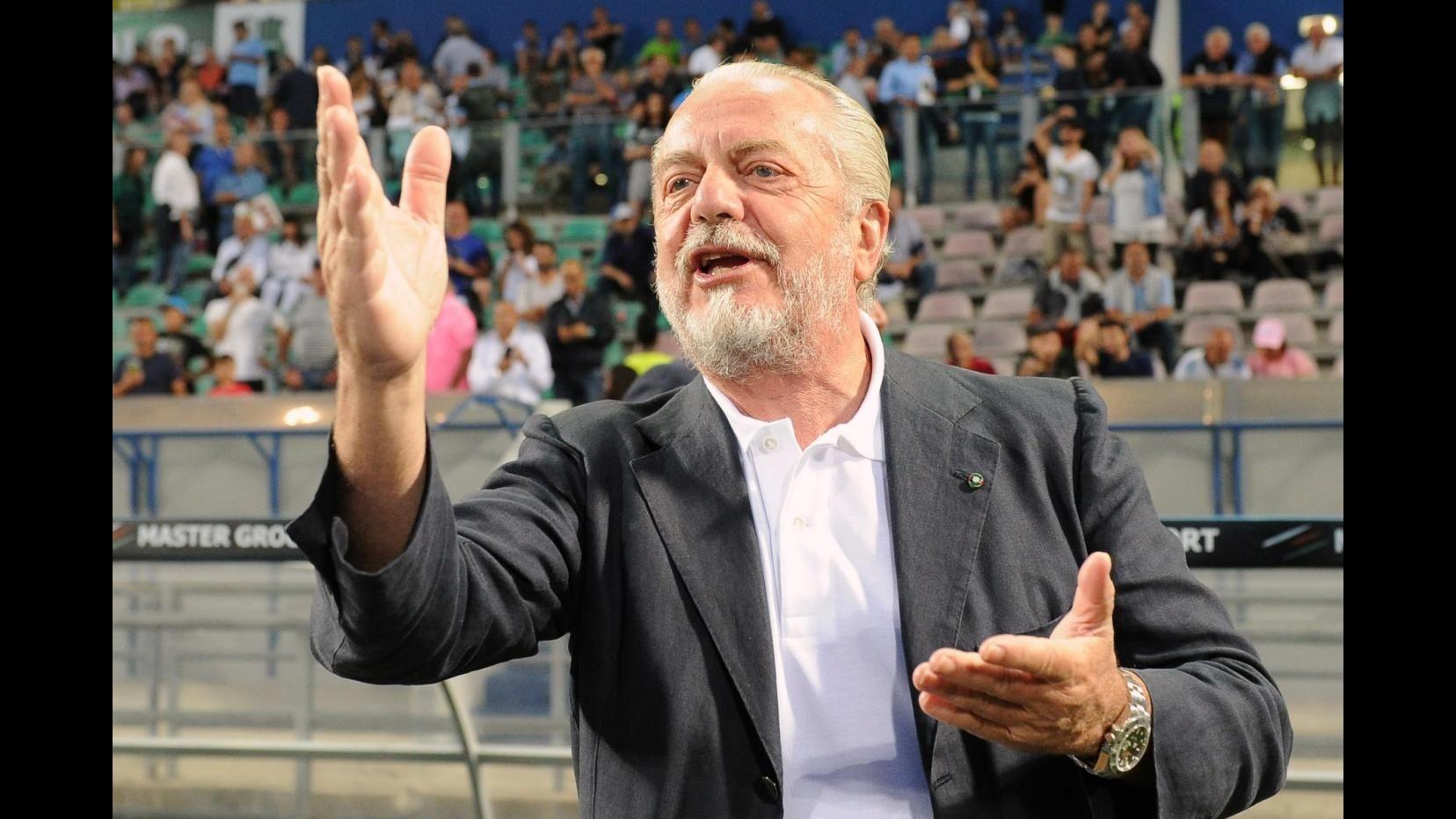 Napoli, De Laurentiis: Villareal forte, ma possiamo batterli