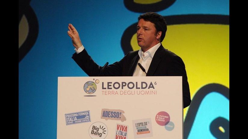Renzi: Leopolda esplosione di buona politica, ma giornali parlano di banche