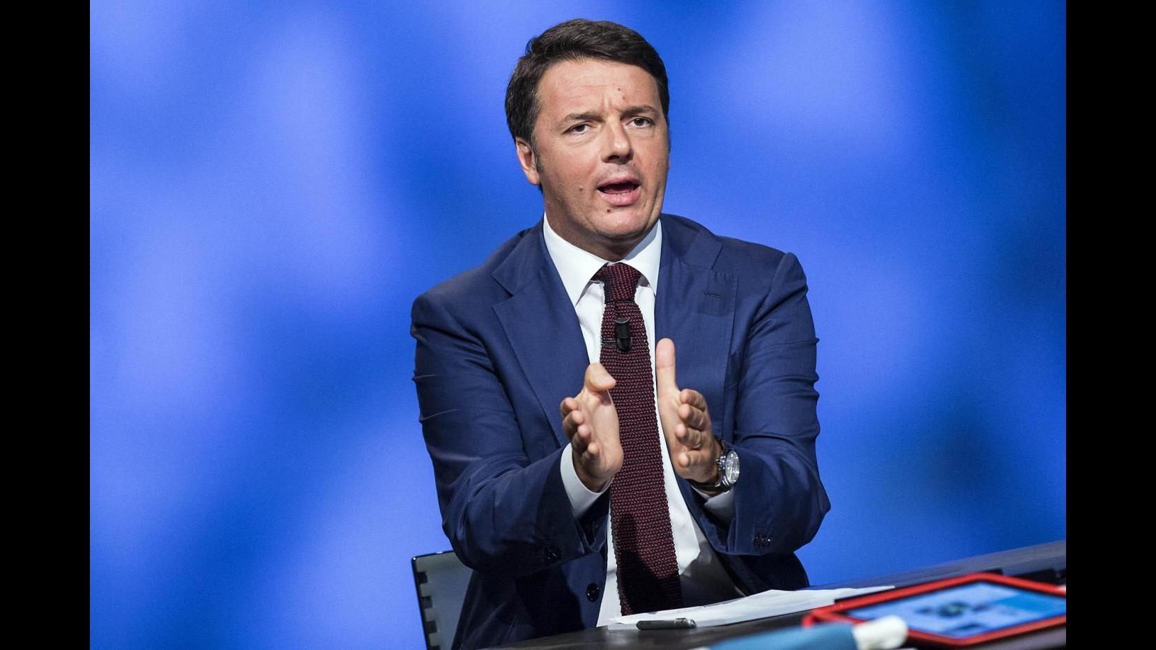 Renzi: Orgoglioso nelle nostre forze della difesa