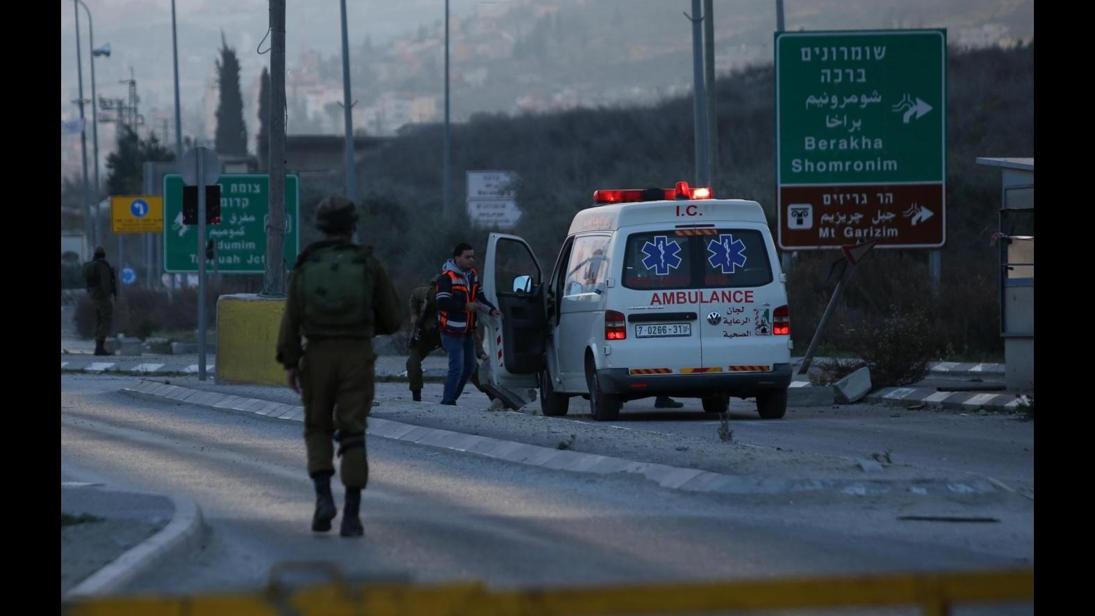 Medioriente, accoltellano soldati a Nablus: uccisi 2 palestinesi