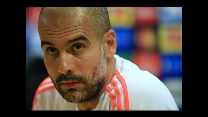 Media Germania: Guardiola al City, ingaggio da 25 milioni