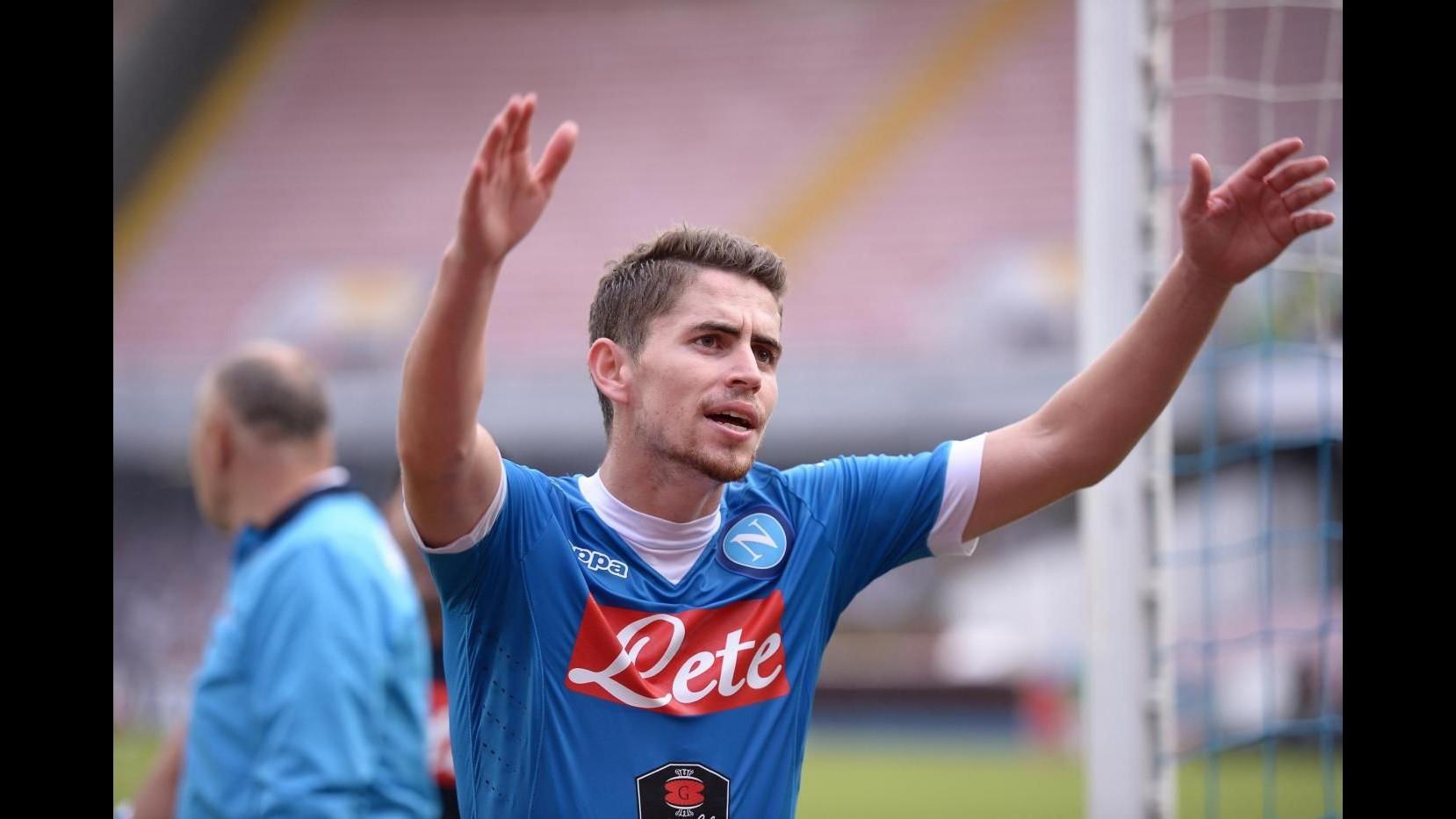 Napoli: Jorginho rinnova fino al 2020