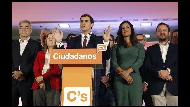 Spagna, Rivera: Accordo con popolari e socialisti anti-Podemos