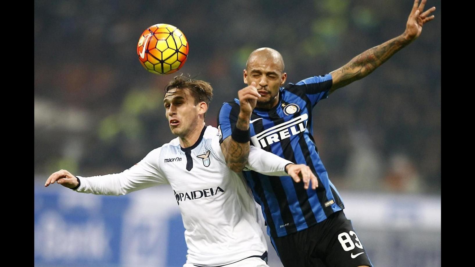 Inter: No ricorso dopo 3 giornate squalifica a Felipe Melo