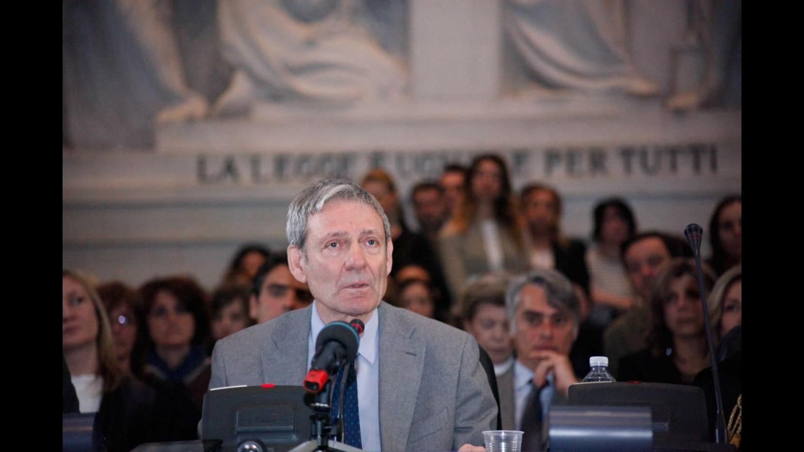 Csm, Giovanni Canzio nuovo primo presidente di Cassazione