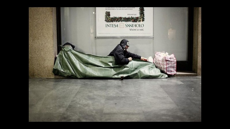 Roma, Comunità Sant'Egidio: 7.700 senzatetto. 2.500 non hanno riparo