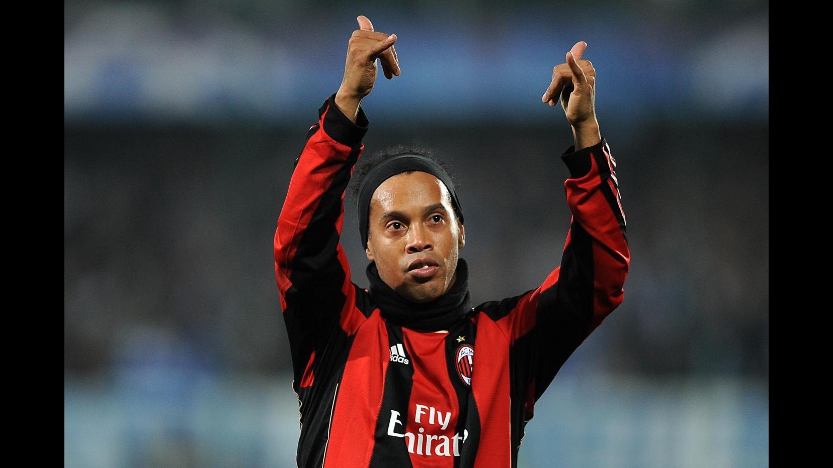 Ronaldinho: Milan è stato speciale, Berlusconi come un padre