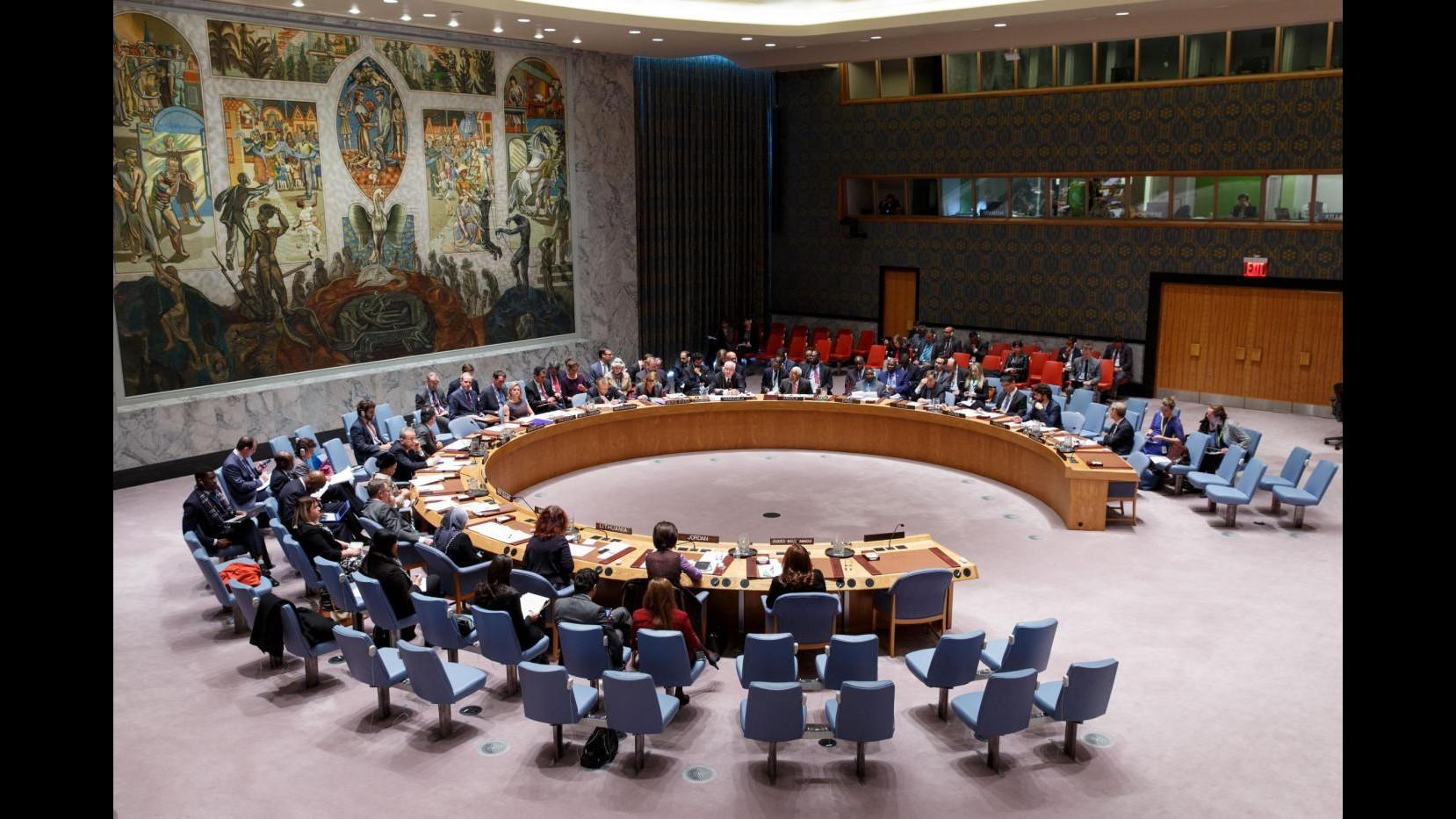 Siria, accordo in Consiglio Onu su risoluzione per roadmap pace