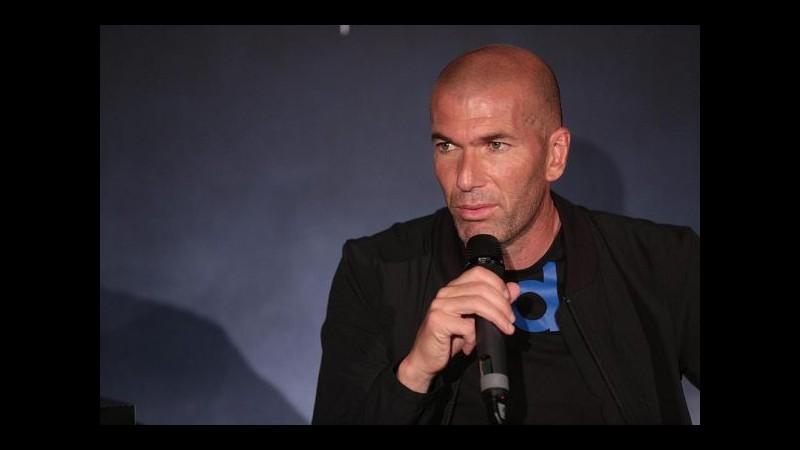 Zidane: Farò di tutto per vincere con il Real Madrid
