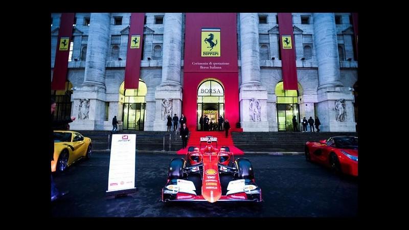 IL PUNTO Ferrari, Piazza Affari si tinge di rosso, debutto volatile