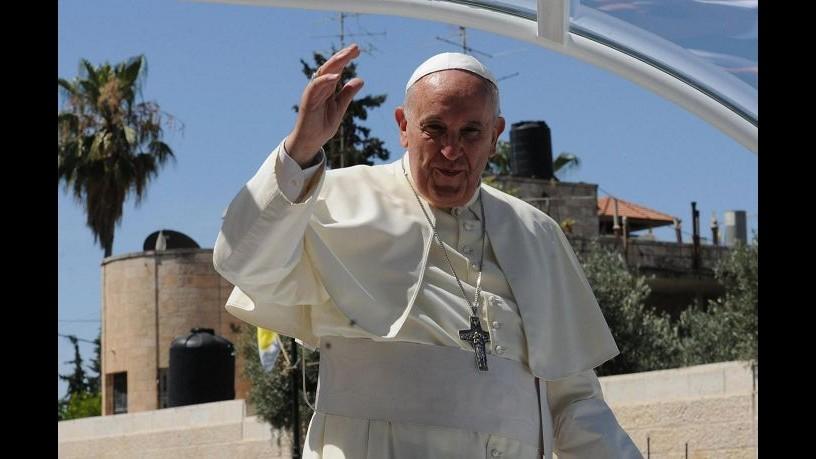 Papa Francesco visita Santuario di Greccio