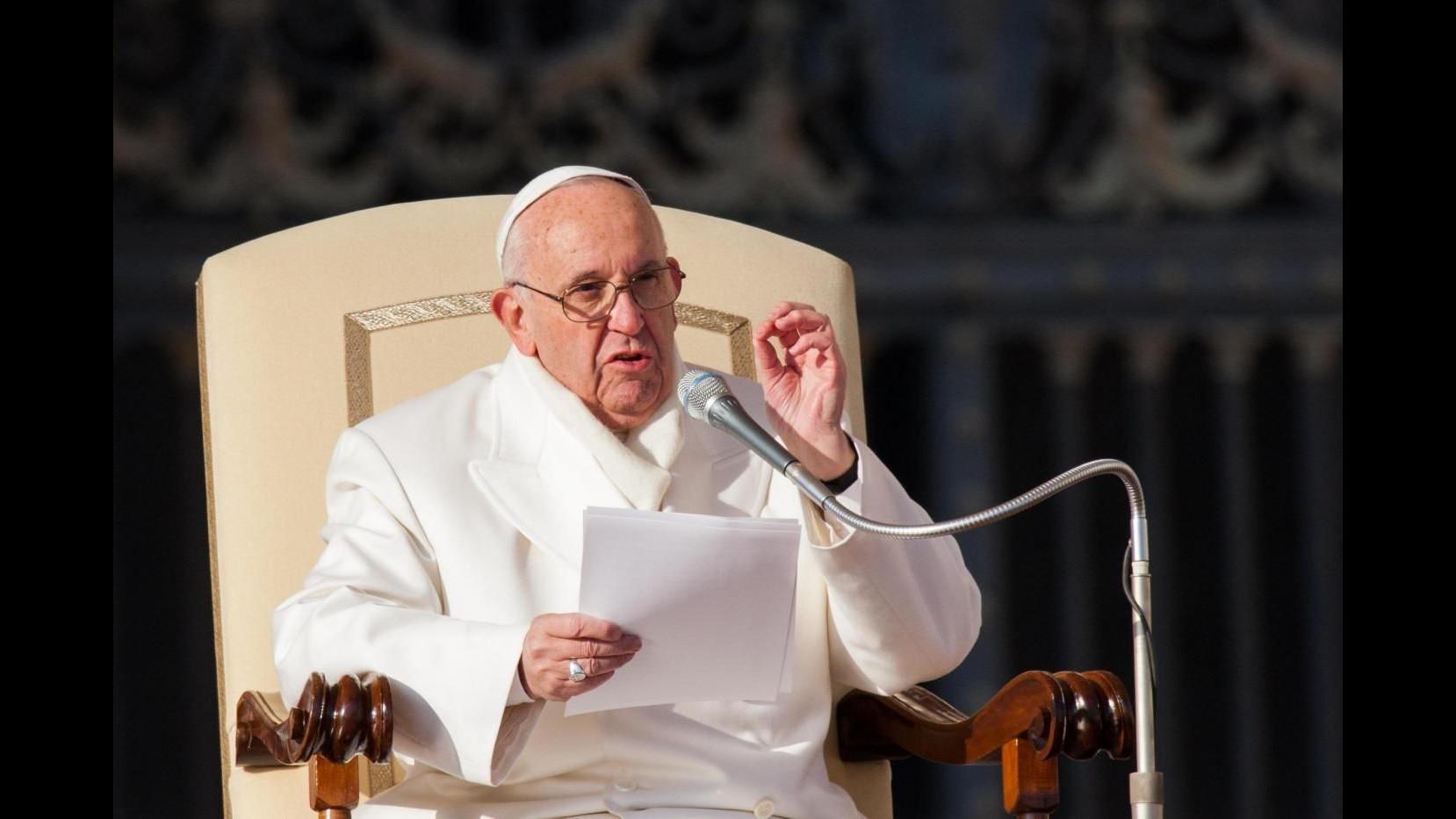 Papa: Proposito per 2016? Pregare di più Da bambino sognavo di fare il macellaio