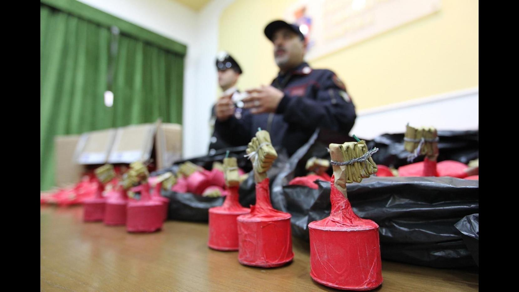 Capodanno, sequestrate tre tonnellate di botti nella provincia di Roma