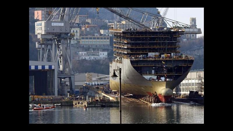 Fincantieri: Memorandum da 2.5 mld con Carnival per 4 nuove navi
